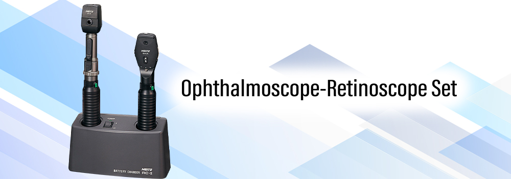Ophthalmoscope-Retinoscope Set